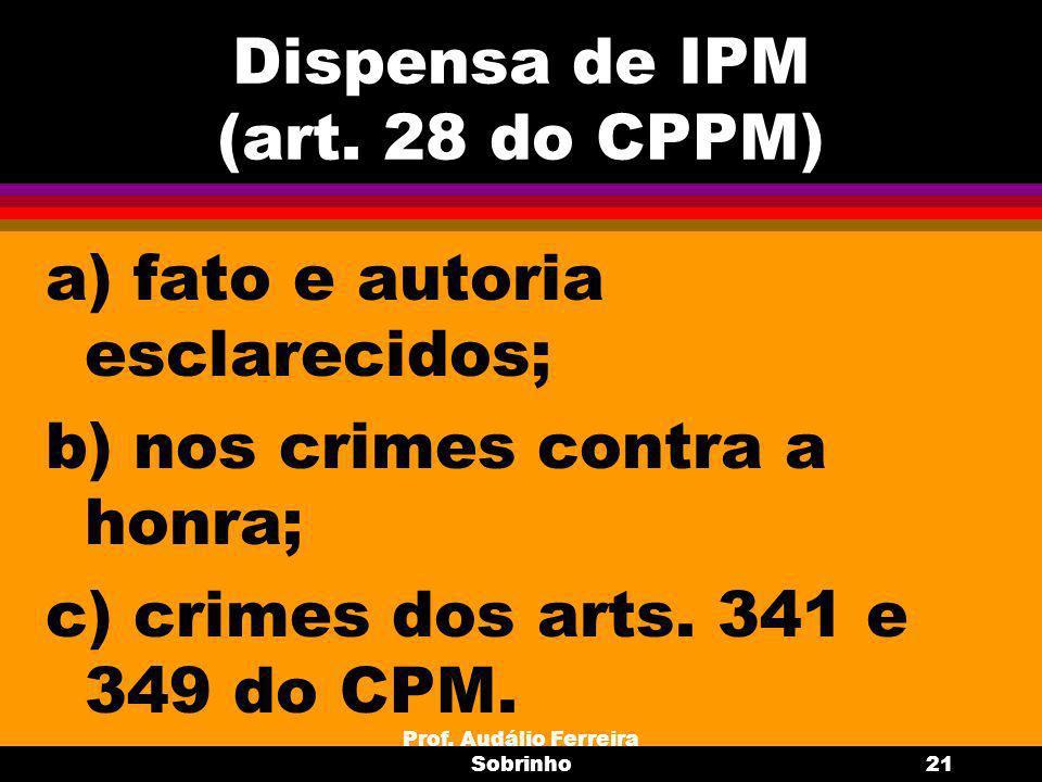 Prof.Audálio Ferreira Sobrinho22 6.