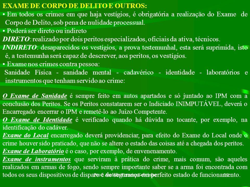 Prof. Audálio Ferreira Sobrinho9 DOCUMENTOS: Considera-se documento qualquer escrito, instrumento, papel público ou particular. Tomando conhecimento d