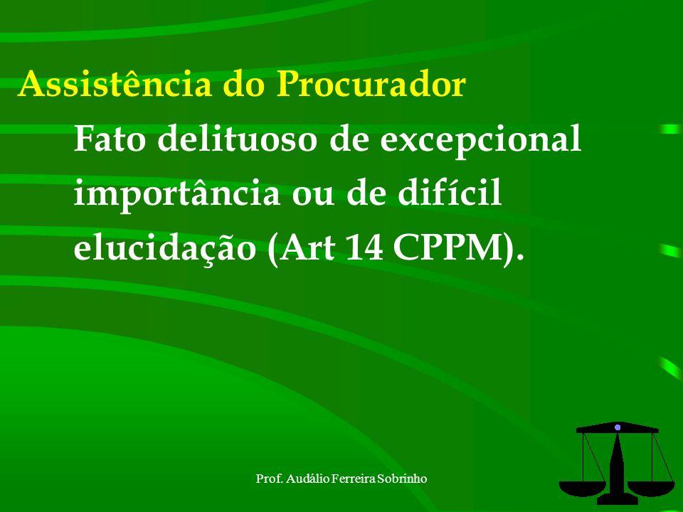 Prof. Audálio Ferreira Sobrinho22