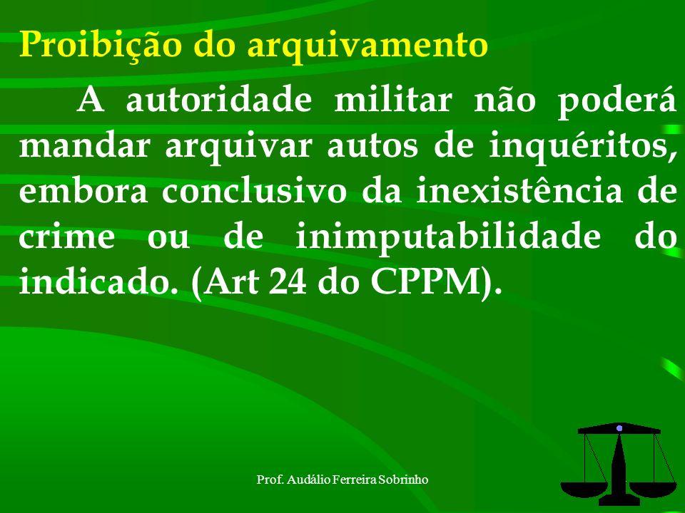 Prof. Audálio Ferreira Sobrinho23 Assistência do Procurador Fato delituoso de excepcional importância ou de difícil elucidação (Art 14 CPPM).