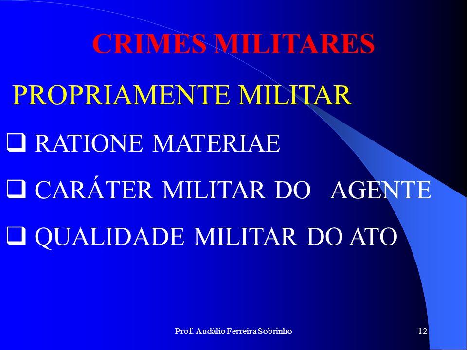 Prof. Audálio Ferreira Sobrinho11 Exemplos: Se João abriu um poço e não o cobriu, agiu com negligência. Se João maneja, junto a outras pessoas, uma ar