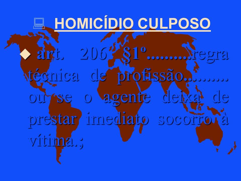 HOMICÍDIO u Homicídio simples...art. 205 u Minoração facult. da pena § 1º u Homicídio qualificado § 2º u Crimes dolosos contra a vida e contra civil(a