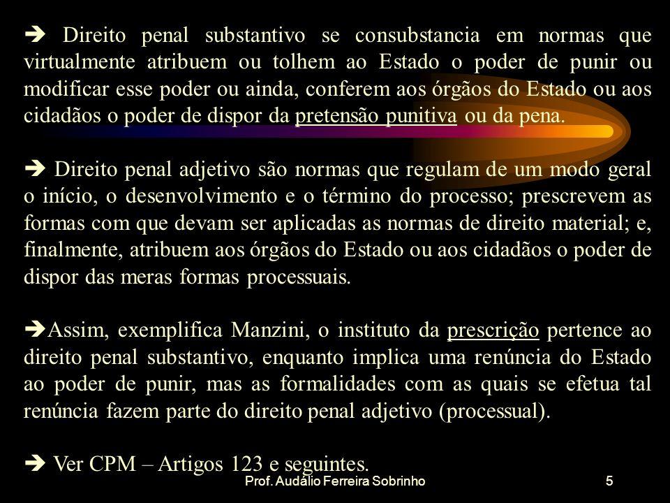 Prof. Audálio Ferreira Sobrinho6