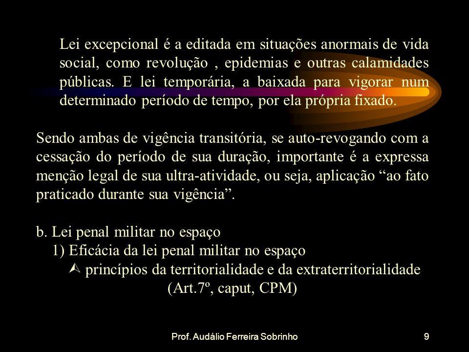 Prof. Audálio Ferreira Sobrinho10 CONCLUSÃO