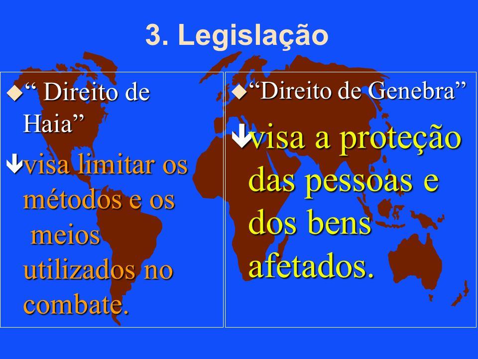 : O Direito Internacional Humanitário u...uma série de tratados internacionais baseados na premissa que constitui o DG, conjunto de normas de conduta