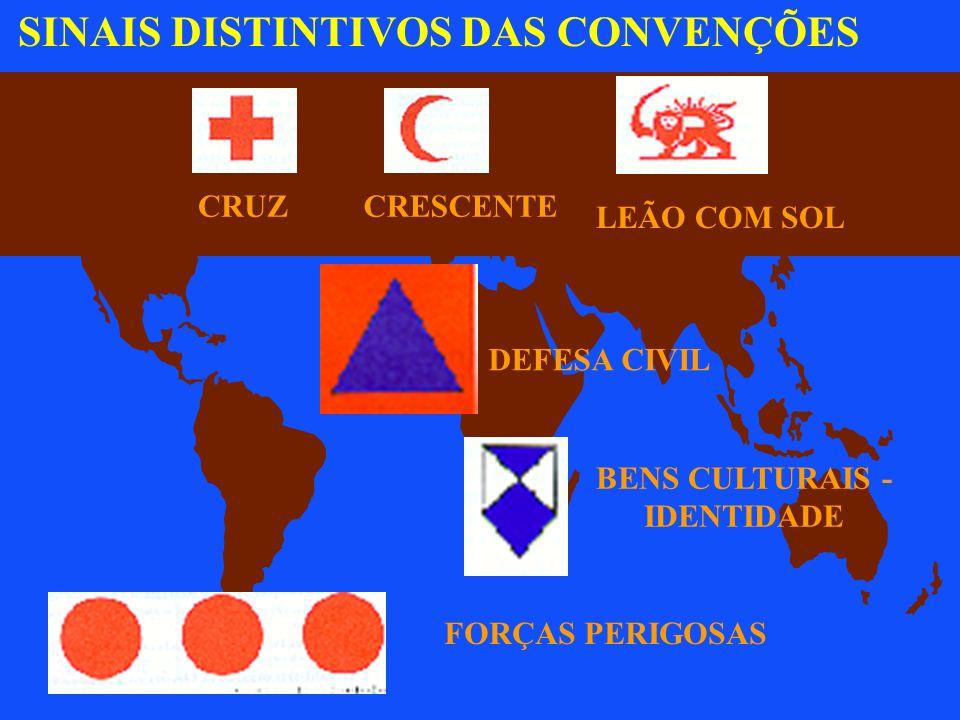 Artigo 3º: comum às quatro Convenções de Genebra São proibidos, em qualquer tempo e lugar, em relação às pessoas que não participam das hostilidades: