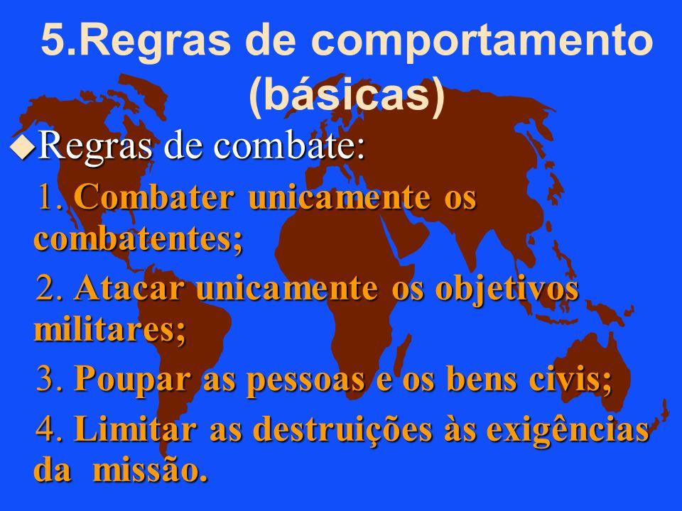 OS PRINCÍPIOS GERAIS Os princípios mencionados se resumem no código: u Mandamentos do soldado