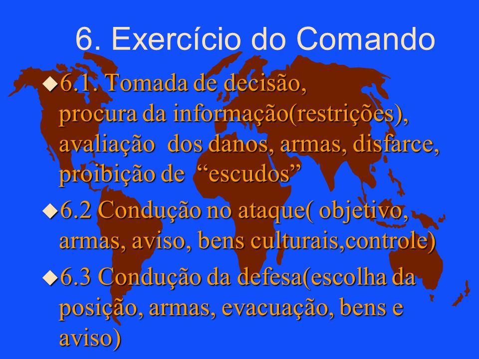 AS REGRAS (4) Os Mortos: u devem ser identificados; u enterrados (marcando a tumba); u ou evacuados para a retaguarda.