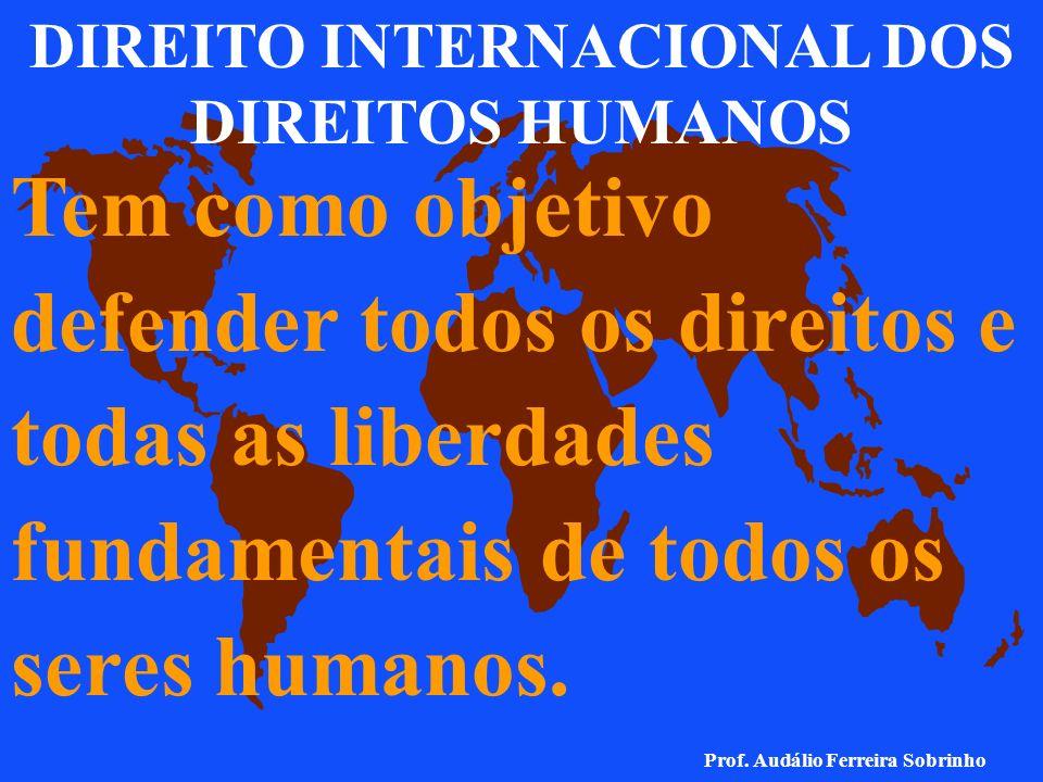 DIREITO INTERNACIONAL HUMANITÁRIO Compreende o conjunto de normas que, em tempo de conflito armado, busca, por um lado, proteger as pessoas que não pa