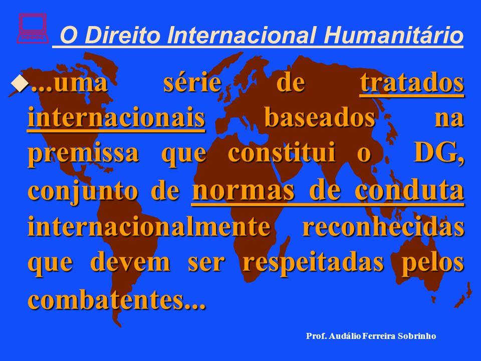 : 2. O Direito Internacional Humanitário u Após a segunda guerra mundial, os países do mundo acordaram de que, em casos de guerra, certas pessoas e be