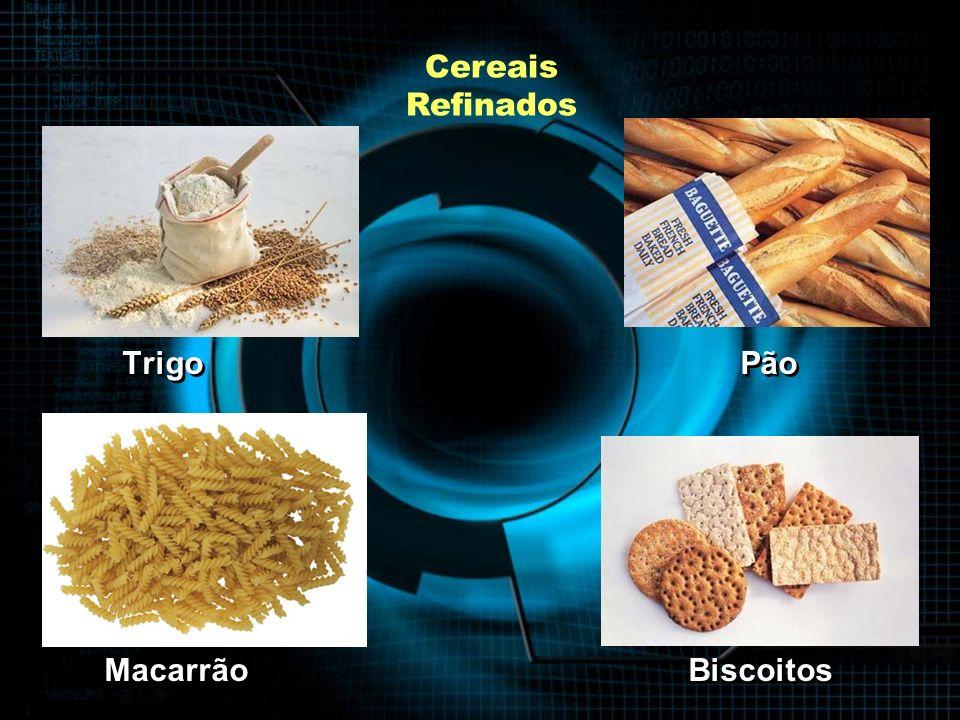 Cereais Refinados Trigo Pão Macarrão Biscoitos Trigo Pão Macarrão Biscoitos
