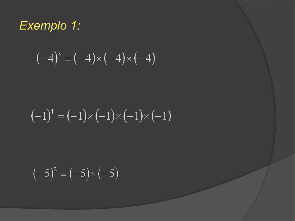 Logo, De um modo geral, Para multiplicar potências com o mesmo expoente, mantém-se o expoente e multiplicam-se as bases.Regra