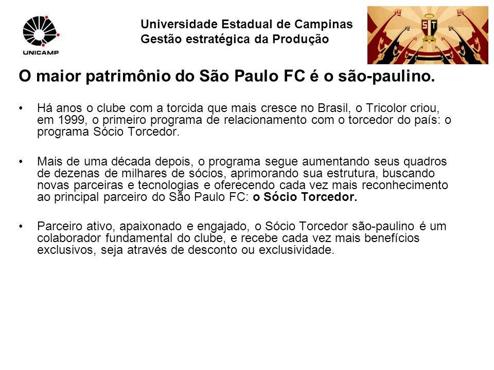 O maior patrimônio do São Paulo FC é o são-paulino. Há anos o clube com a torcida que mais cresce no Brasil, o Tricolor criou, em 1999, o primeiro pro