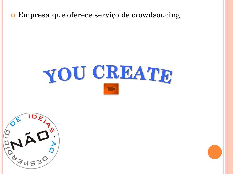 Empresa que oferece serviço de crowdsoucing