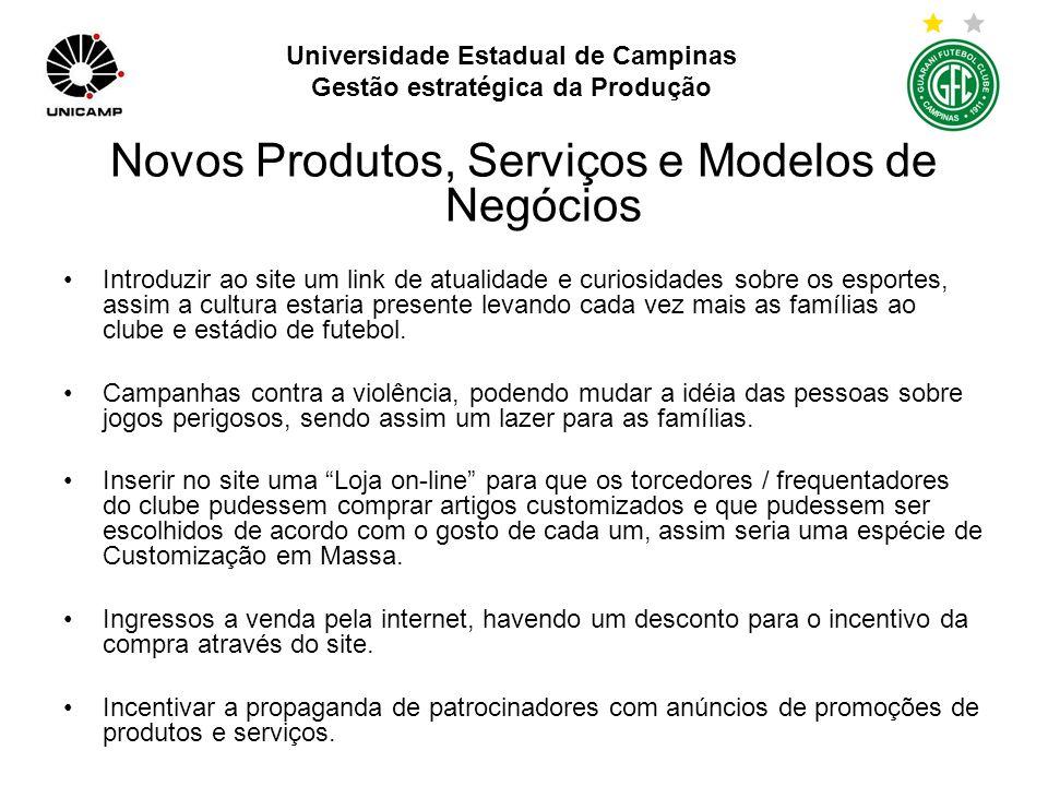 Universidade Estadual de Campinas Gestão estratégica da Produção Relacionamento mais Estreito com Clientes e Fornecedores Propaganda sobre as vantagens em ser sócio.