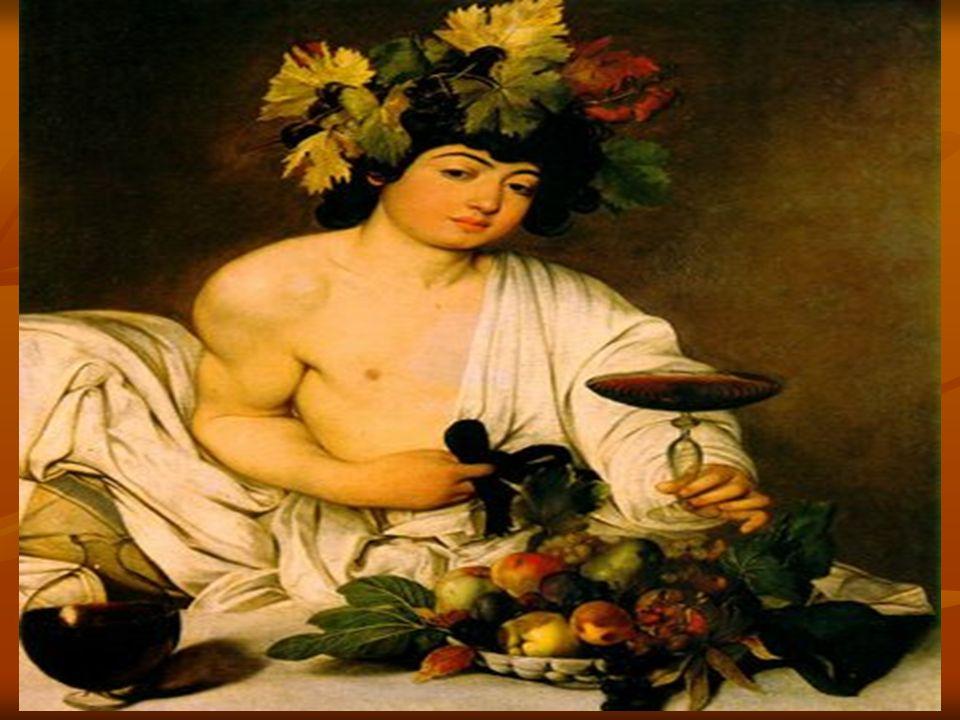 Caravaggio reagiu às convenções do maneirismo e opôs a elas uma pintura natural, direta, e até mesmo brutal, que por sua franqueza renovou a natureza morta( cesta de frutas, Milão, Biblioteca Ambrosiana), e as cenas profanas (Baco Doente, Roma, Galeria Borghese), bem como os temas religiosos ( Descanso durante fuga para o Egito).