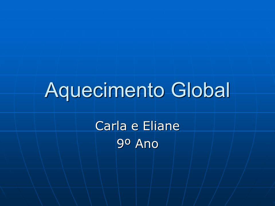 As causas do aquecimento global Poluição atmosférica: principal causa do aquecimento global.
