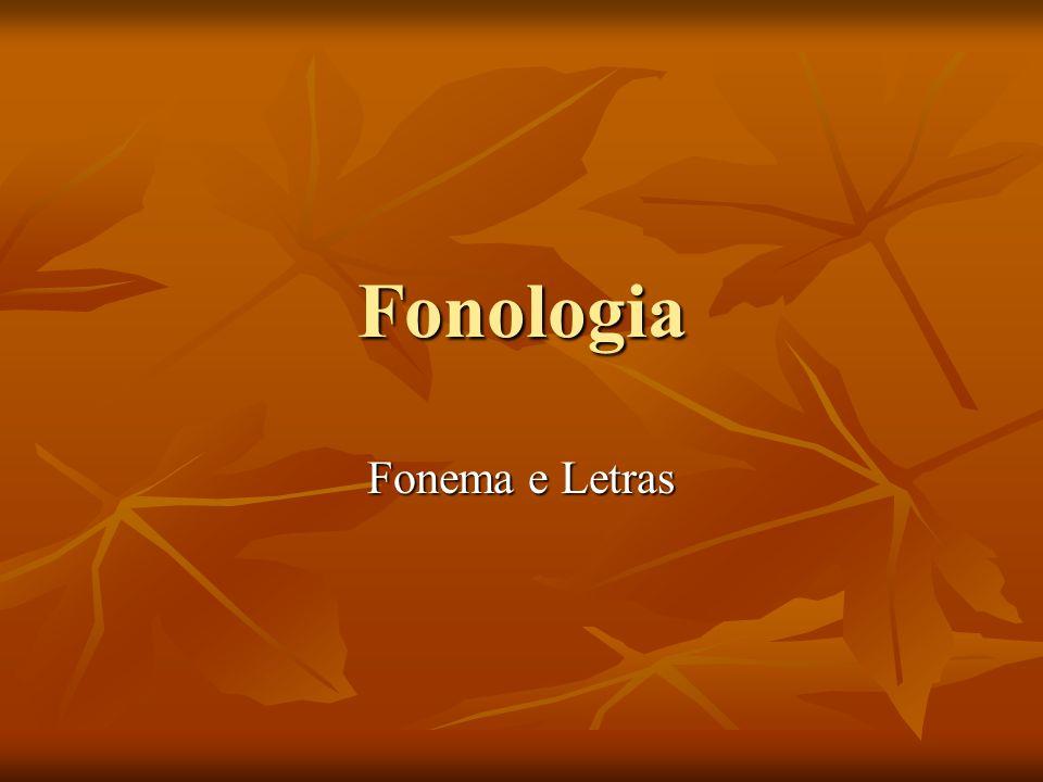 O que e fonologia.