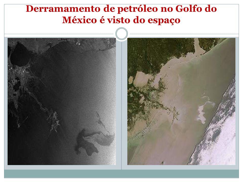 Maior vazamento de petróleo A explosão da plataforma Deepwater Horizon ocorreu no dia 20 de abril de 2010, no Golfo do México, nos Estados Unidos. O d