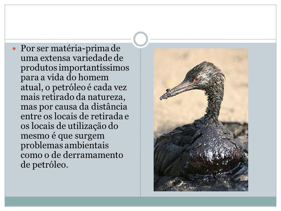 O petróleo é uma substância líquida encontrada na natureza e utilizada para inúmeras finalidades como para a obtenção de combustíveis, medicamentos, s