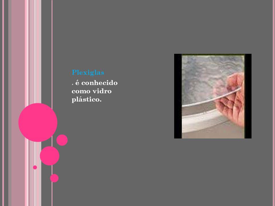 Polietileno Tereftalato (PET) Aplicações: Embalagens para bebidas, refrigerantes, água mineral, alimentos, produtos de limpeza, condimentos; reciclado