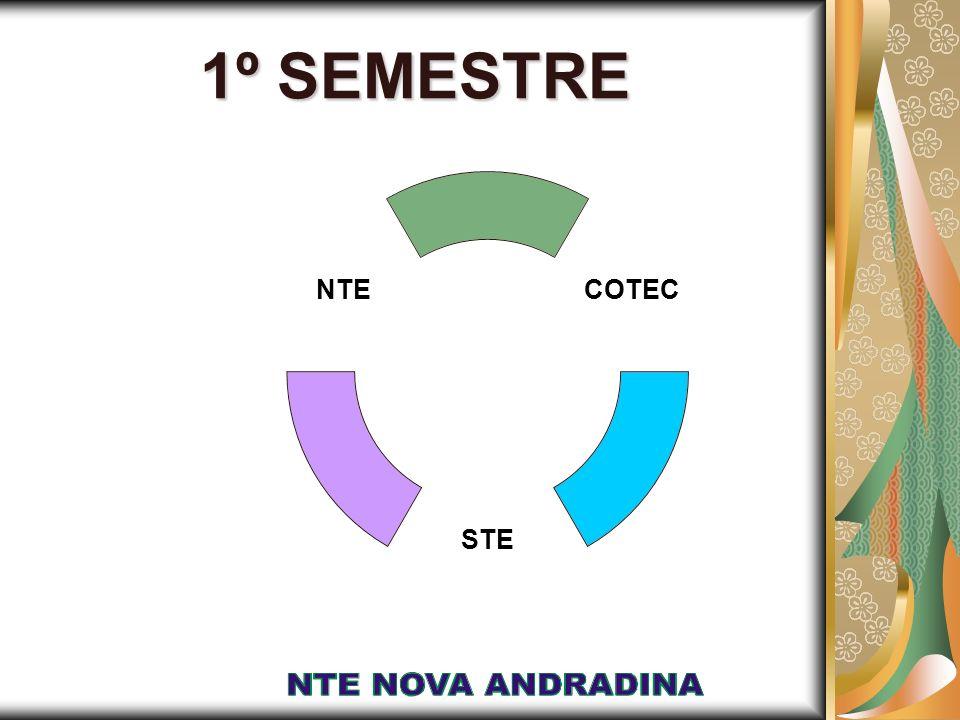 1º SEMESTRE COTEC STE NTE