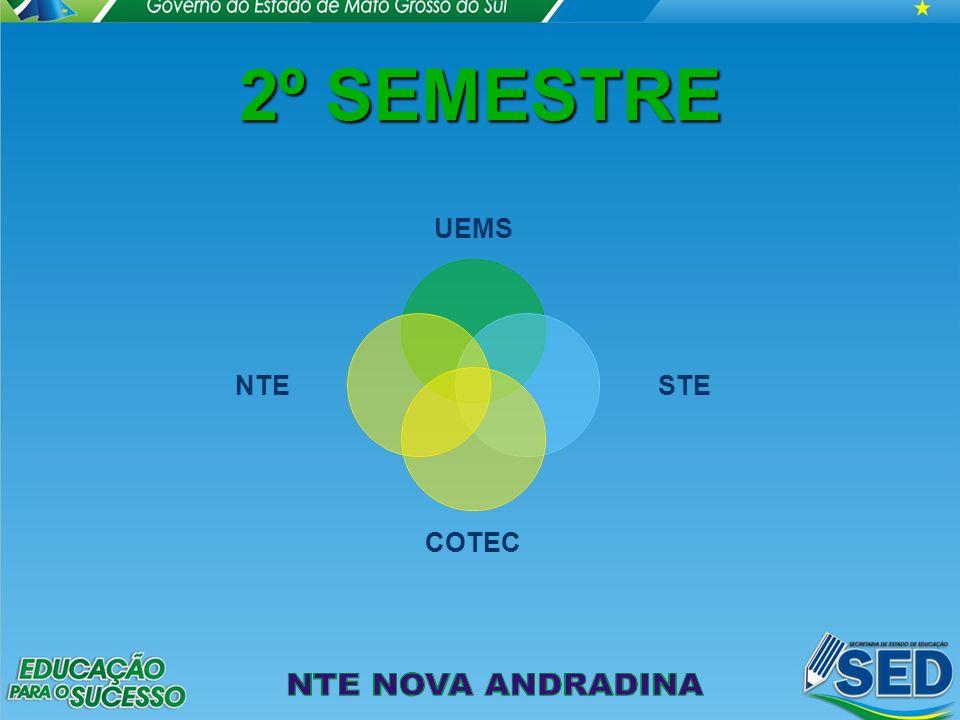 2º SEMESTRE UEMS STE COTEC NTE