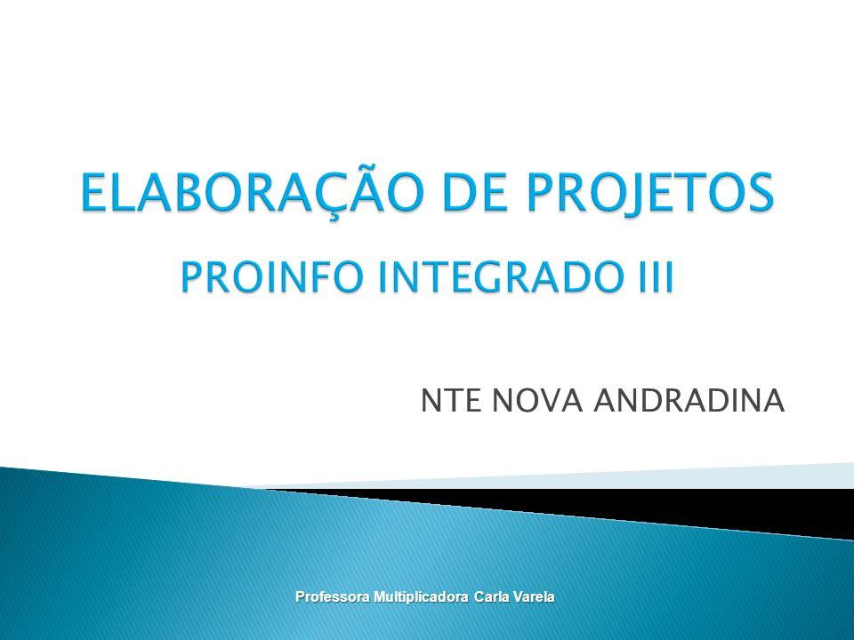NTE NOVA ANDRADINA Professora Multiplicadora Carla Varela