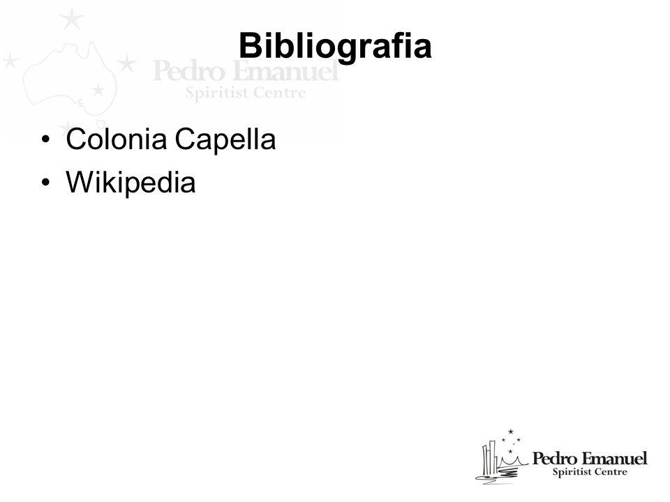 Bibliografia Colonia Capella Wikipedia