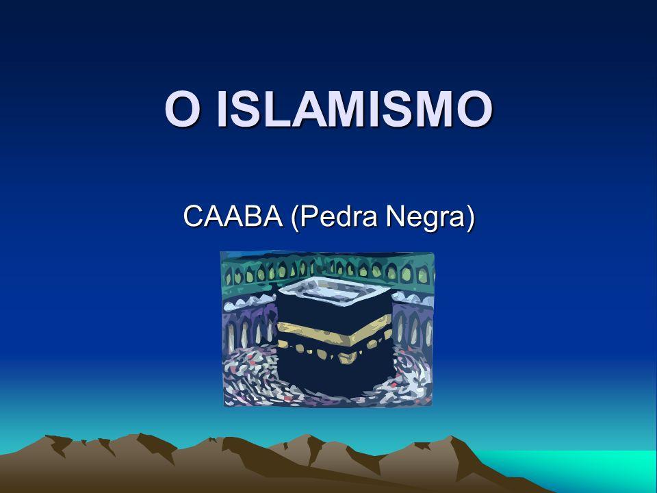 CARACTERÍSTICAS Religião Monoteísta 1.397 anos Fundada por Maomé (principal) e Ali (discípulo) Centro de Adoração: MECA Hoje: 935 milhões seguidores; a que mais cresce no mundo Islã = submissão