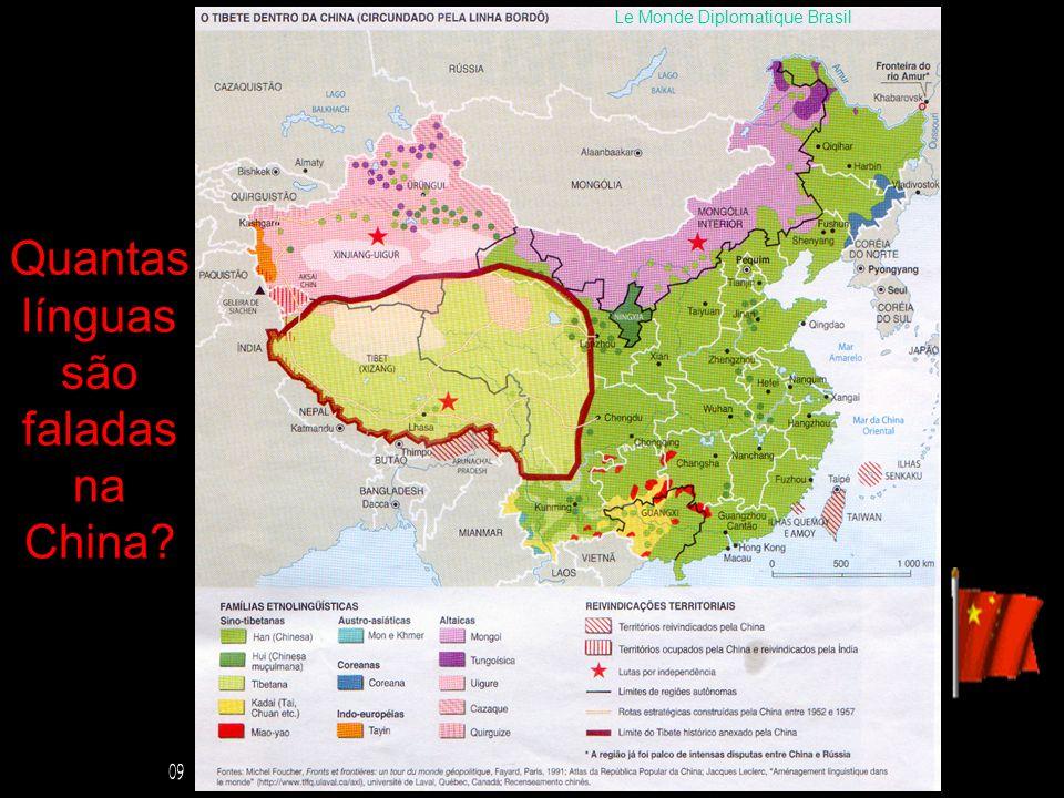 Quantas línguas são faladas na China? Le Monde Diplomatique Brasil