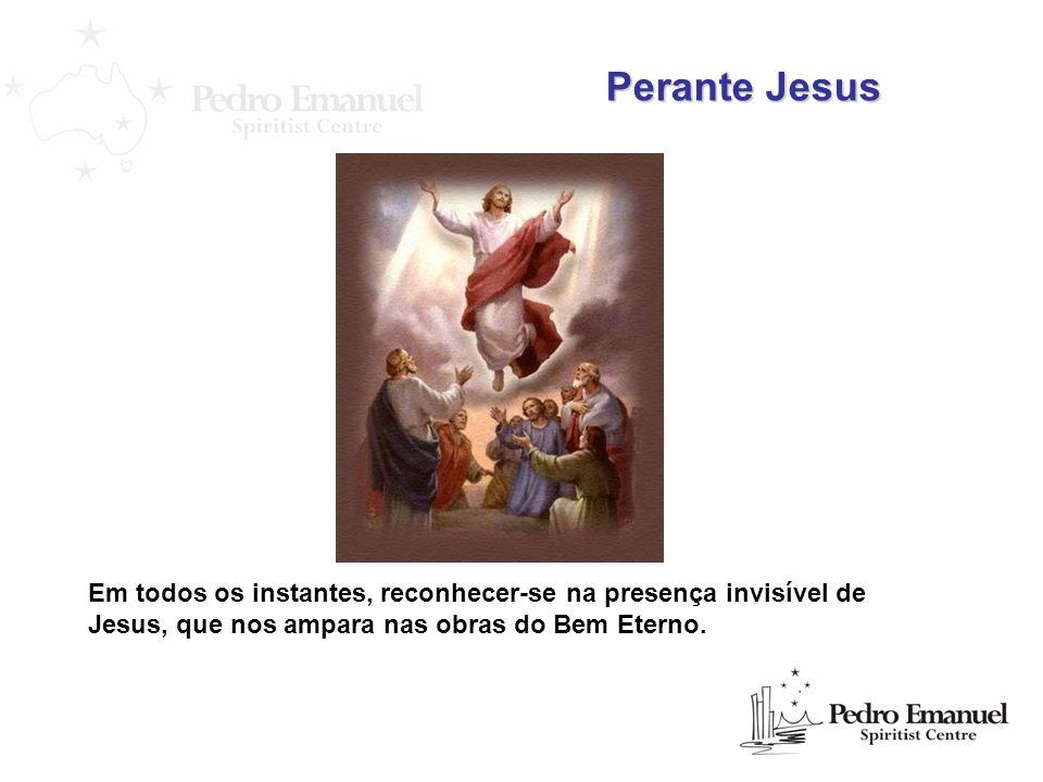 Aceitou-nos o Cristo de Deus desde os primórdios da Terra. Perante Jesus