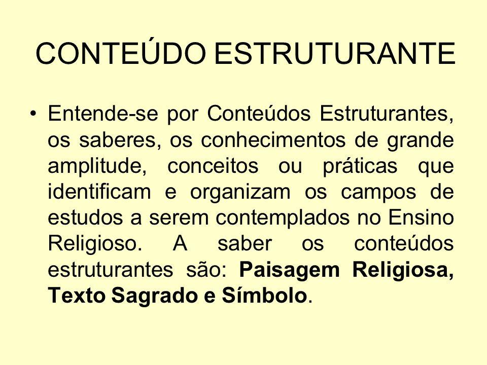 Símbolos São linguagens que expressam sentidos, possuem a função de comunicar e exercem um papel relevante para a vida imaginativa e para a constituição das diferentes religiões no mundo.