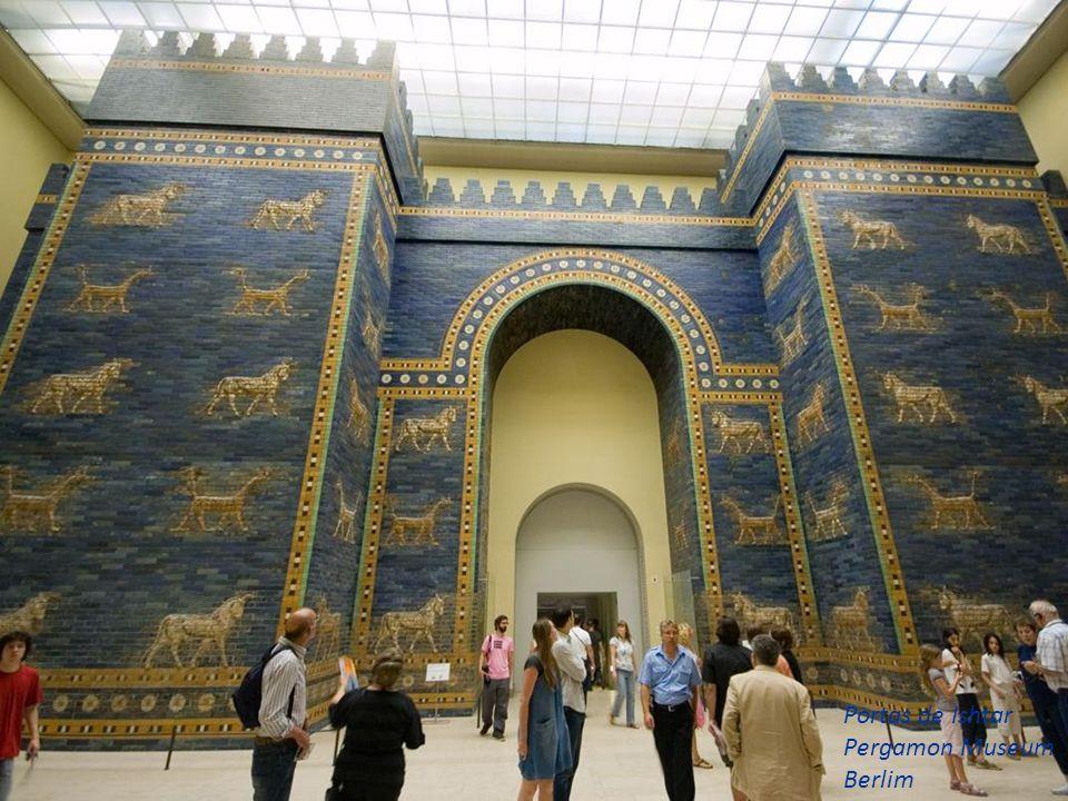 Portas de Ishtar Pergamon Museum Berlim
