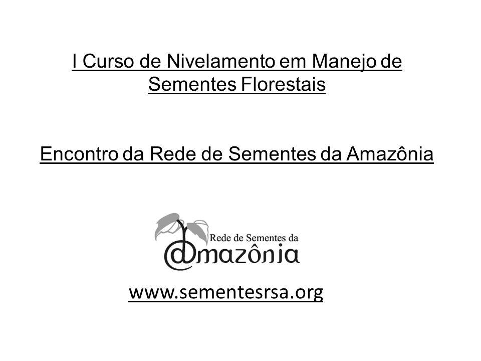 Manaus - 2010 Curso de Nivelamento em Manejo de Sementes de Espécies Florestais LEGISLAÇÃO DE SEMENTES E MUDAS Selma Ohashi - UFRA Projeto Corredores Ecológicos – MMA- UFAM