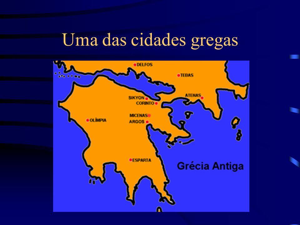 Uma das cidades gregas
