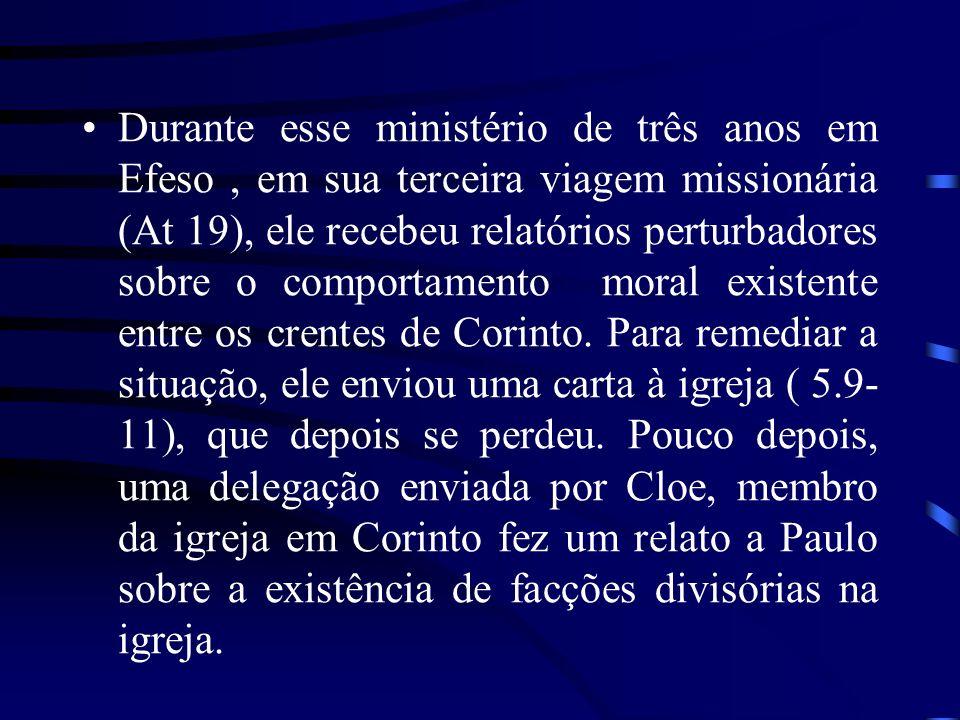 II CORINTIOS 2Co reflete, de várias maneiras, o tratamento de Paulo com a Igreja de Corinto durante o período da fundação, por volta de 50 dC, até a redação desta epístola, em 55 ou 56 dC.