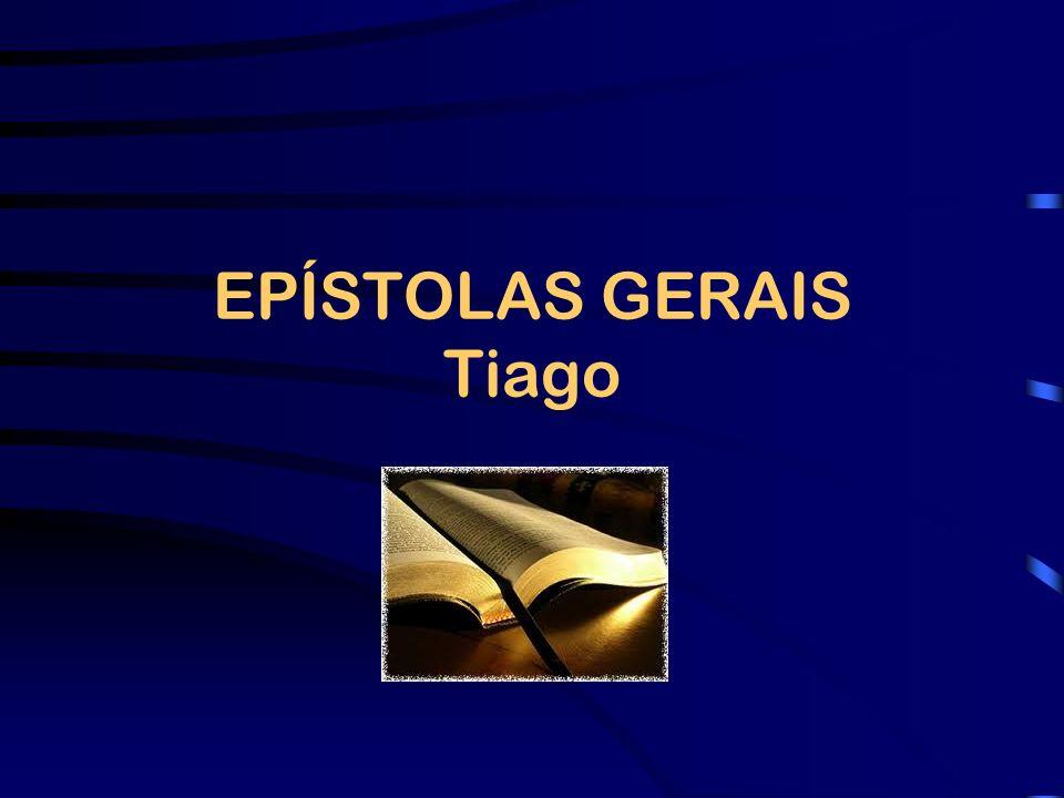DESTINATÁRIOS O endereçamento da Epístola de Tiago às doze tribos que se encontram na Dispersão (Tg 1.1) dá a entender que seus leitores eram cristãos judeus que viviam fora da Palestina.