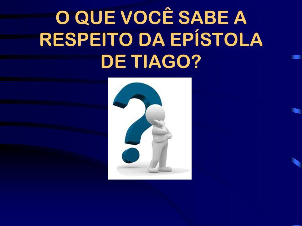 TIAGO O autor identifica-se somente como Tiago.