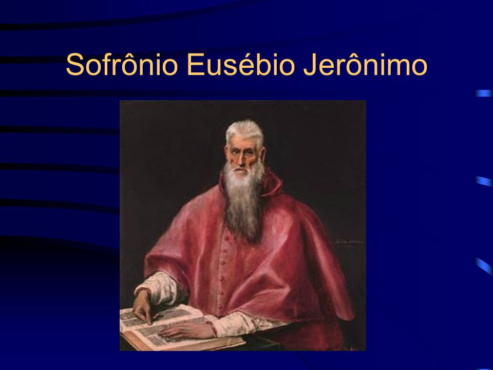 Sofrônio Eusébio Jerônimo