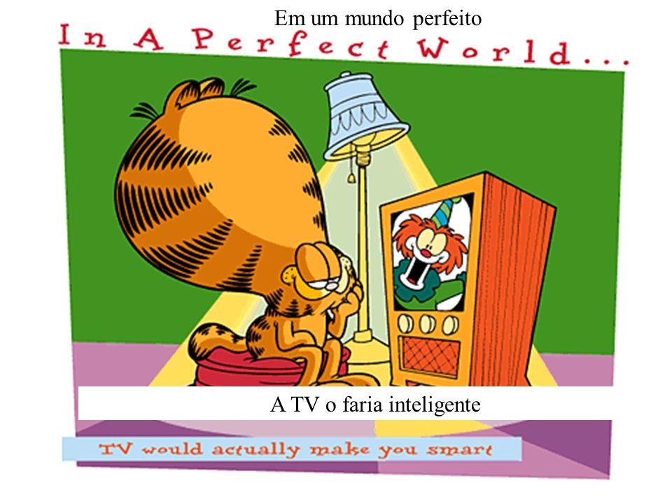 Em um mundo perfeito A TV o faria inteligente
