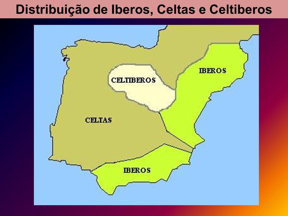 Os Povos do Mediterrâneo visitaram a Península Ibérica, atraídos pelas suas riquezas naturais.