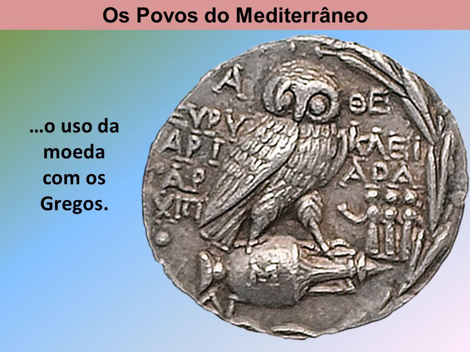 Rotas comerciais Os Povos do Mediterrâneo
