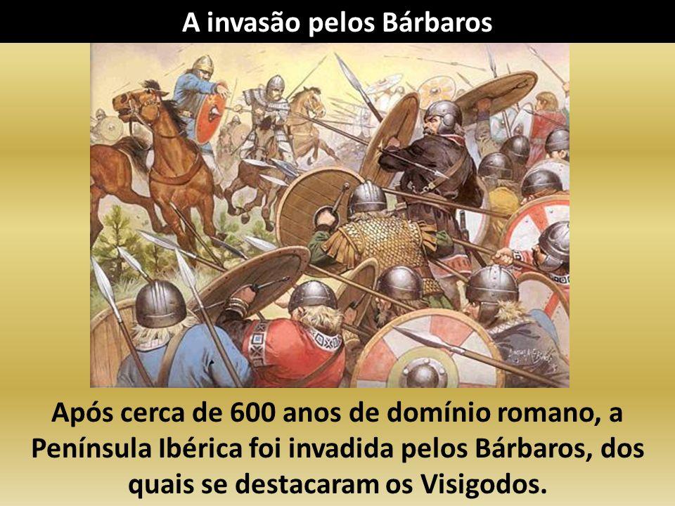 Chamavam-se bárbaros por serem povos guerreiros e menos civilizados. A invasão pelos Bárbaros