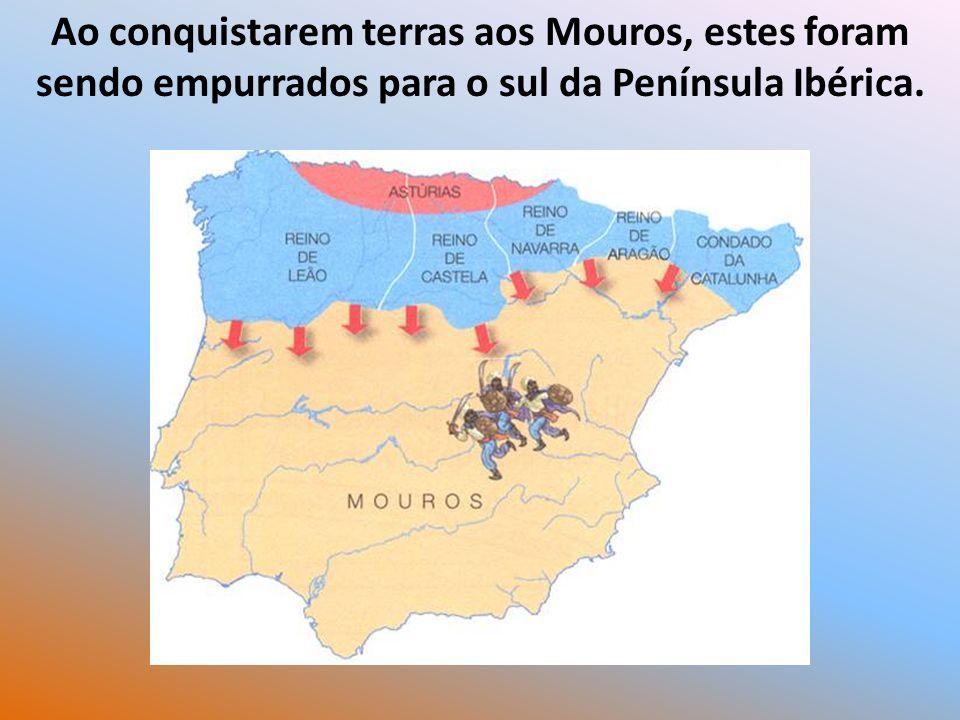 Formaram-se novos reinos: Leão Castela, Navarra e Aragão.