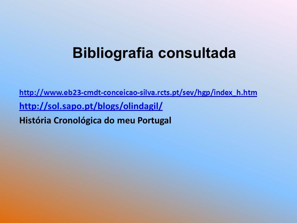 http://www.eb23-cmdt-conceicao-silva.rcts.pt/sev/hgp/index_h.htm http://sol.sapo.pt/blogs/olindagil/ História Cronológica do meu Portugal Bibliografia