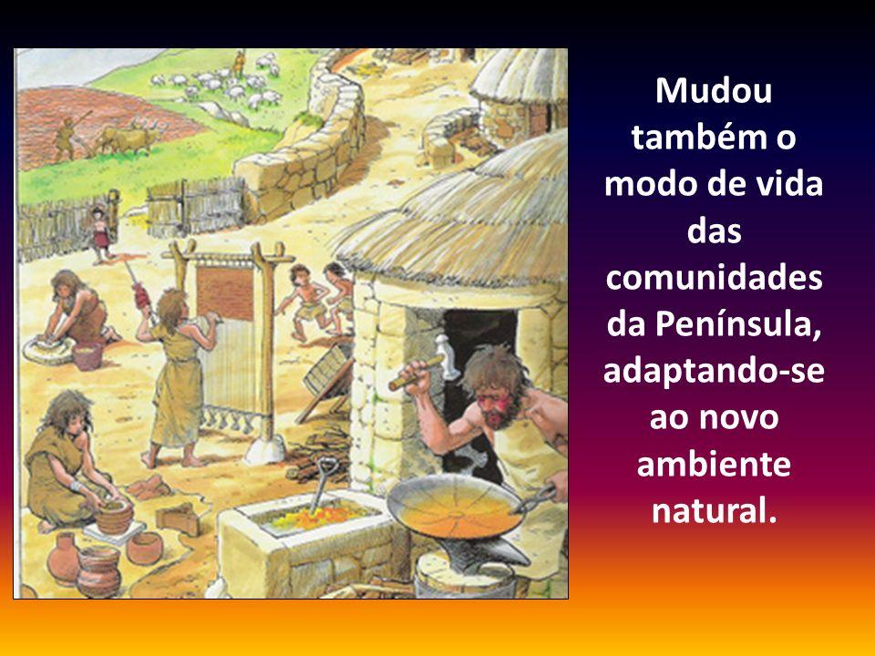 Mudou também o modo de vida das comunidades da Península, adaptando-se ao novo ambiente natural.