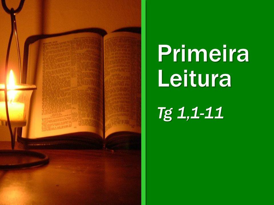 Primeira Leitura Tg 1,1-11