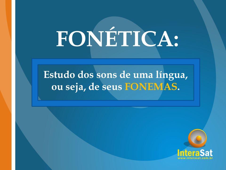 Fonema x Letra Cada som diferente existente em uma língua Representação gráfica dos sons existentes em uma língua