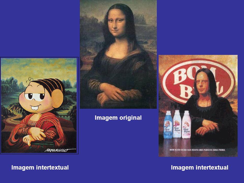 Imagem original Imagem intertextual